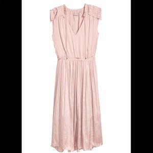H&M Creped Satin Dress